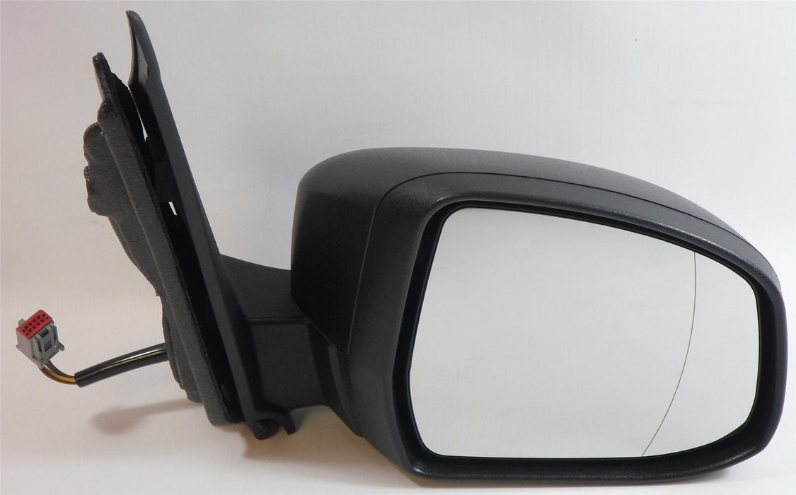 Ford Focus 3/08-6/11 Electric Wing Mirror Indicator Polished Black Drivers Side