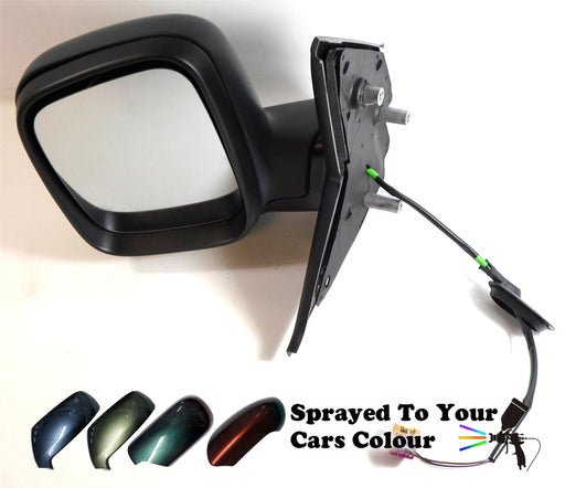 VW Transporter T5 03-4/10 Elec Wing Mirror Tall Housing Passenger Side Painted Sprayed