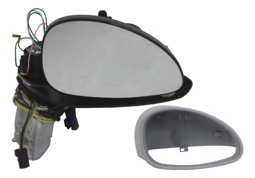Citroen C4 2004-2010 Electric Wing Mirror Black Arm Primed Cover Drivers Side