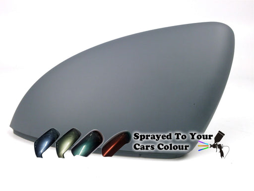 Volkswagen Touran Mk.2 7/2015+ Wing Mirror Cover Passenger Side N/S Painted Sprayed