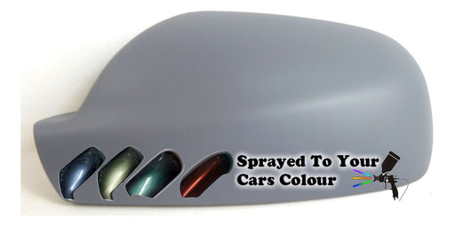 Peugeot 407 2004-2011 Wing Mirror Cover Passenger Side N/S Painted Sprayed