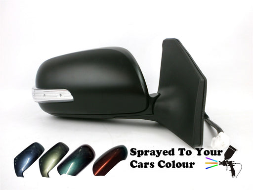 Toyota Avensis 7/2006-6/2009 Electric Wing Mirror Indicator Drivers Side Painted Sprayed