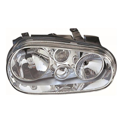 Volkswagen Golf Mk4 Hatchback 10/1997-6/2004 Headlight Excl Fog Drivers Side O/S