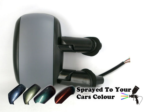 Fiat Doblo Mk.1 2001-6/2010 Electric Wing Mirror Heated Drivers Side O/S Painted Sprayed