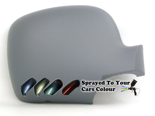 Renault Kangoo Mk.2 9/2008-6/2013 Wing Mirror Cover Drivers Side O/S Painted Sprayed