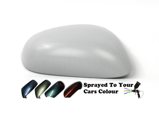 Seat Leon Mk.2 (Excl. FR) 9/2005-9/2009 Wing Mirror Cover Drivers Side O/S Painted Sprayed