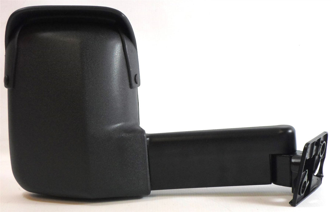 Ford Transit Mk3 & 4 1986-1994 Long Arm Wing Mirror Manual Black Drivers Side