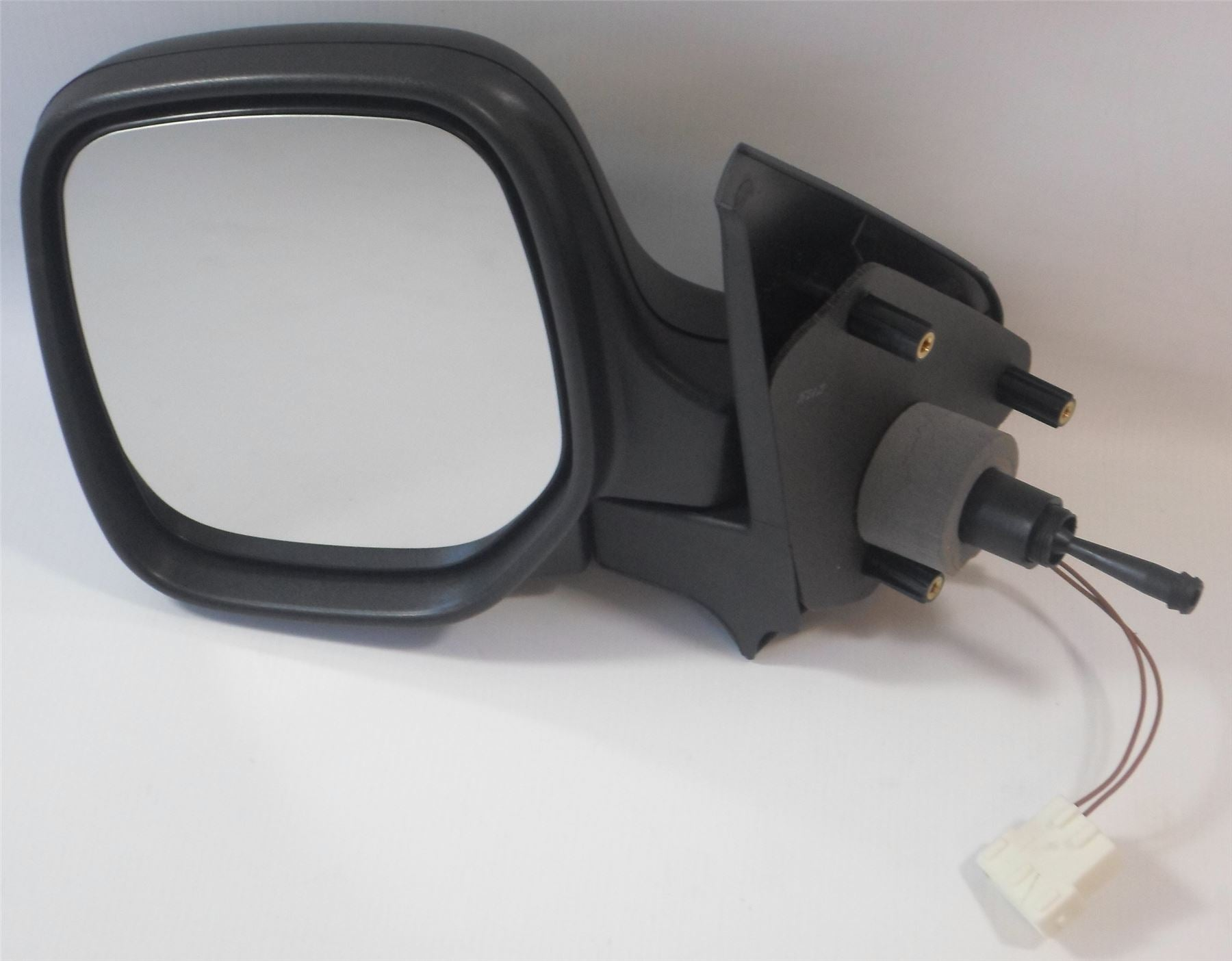 Peugeot Partner Mk.1 2009-2011 Cable Wing Mirror Heated Black Passenger Side N/S