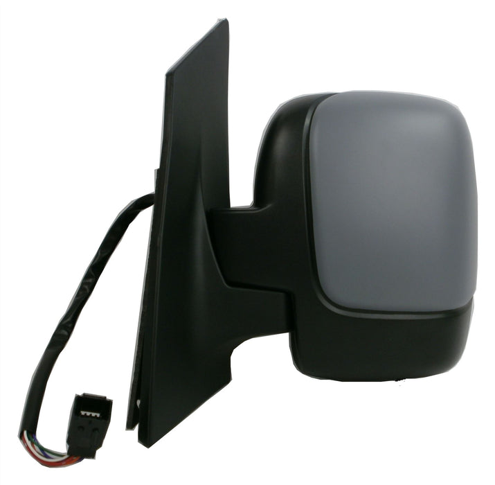Citroen Dispatch Mk2 2007+ Single Glass Wing Mirror Power Folding Passenger Side