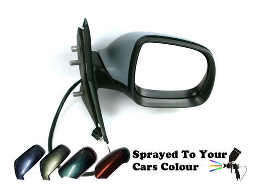 VW Transporter T5 1/2010-2015 Electric Heated Wing Mirror Drivers Side Painted Sprayed