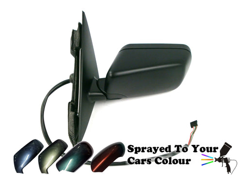 BMW 3 Series E46 4&5 Door 1998-2005 Electric Wing Mirror Passenger Side Painted Sprayed