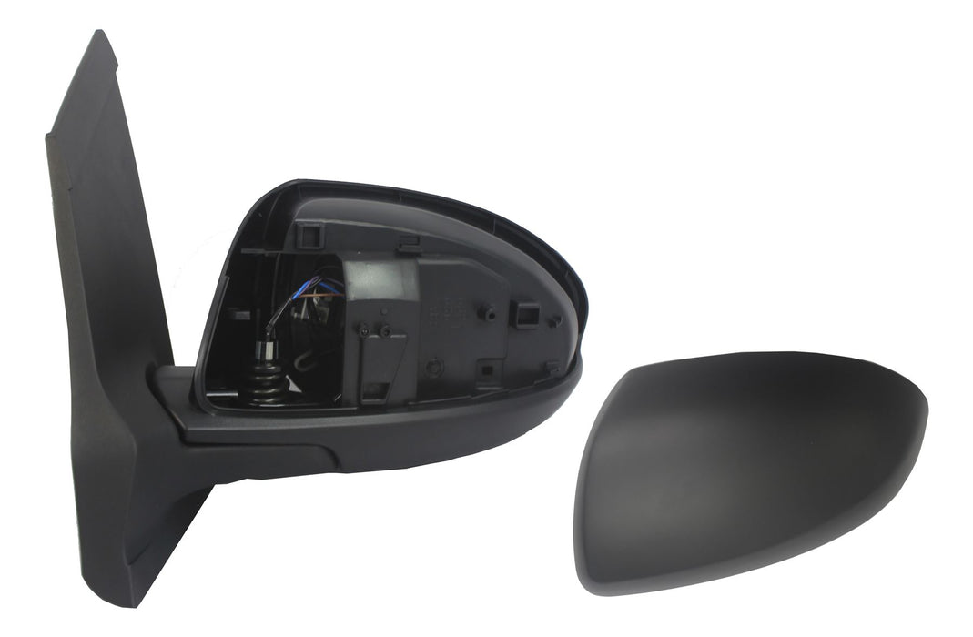 Mazda 2 Mk2 9/2007-4/2015 Electric Wing Mirror Heated Black Passenger Side N/S