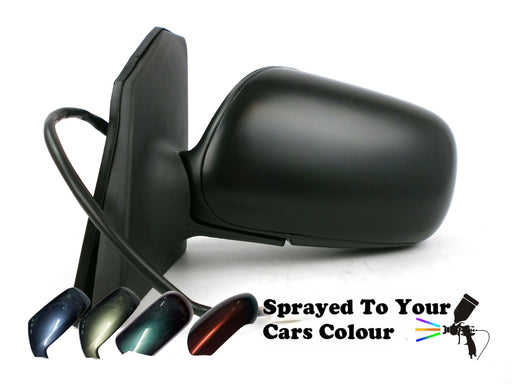 Toyota Corolla Mk5 2002-9/2004 Electric Wing Mirror 5 Pin Passenger Side Painted Sprayed