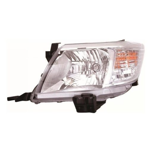 Toyota Hi-Lux Mk5 Pickup 2012-10/2016 Headlight Headlamp Passenger Side N/S
