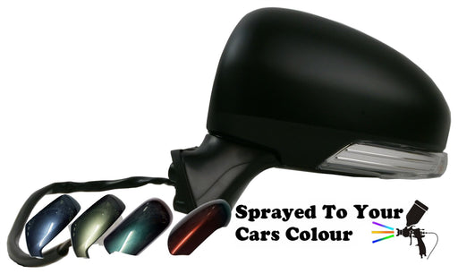 Toyota Prius 6/09-6/2016 Wing Mirror Power Folding Passenger Side Painted Sprayed