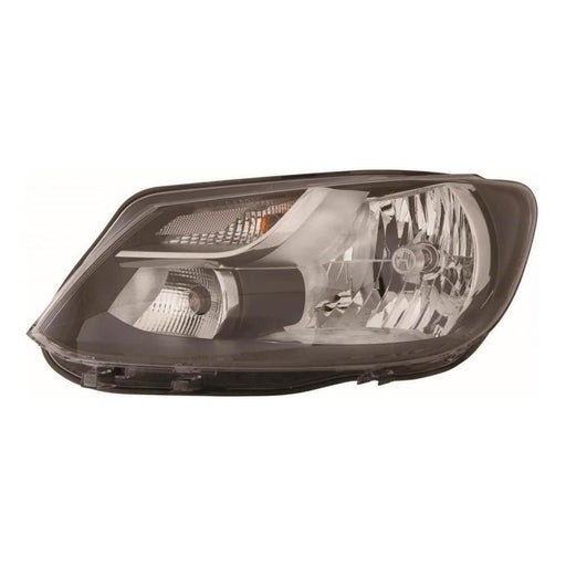 VW Touran Mk2 MPV 9/2010-2015 Single Reflector Headlight Passenger Side N/S