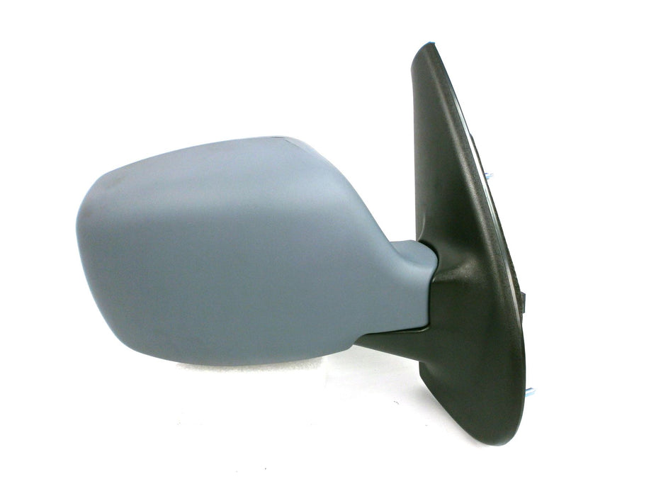 Renault Kangoo Mk1 2003-2008 Electric Heated Wing Mirror Primed Drivers Side O/S