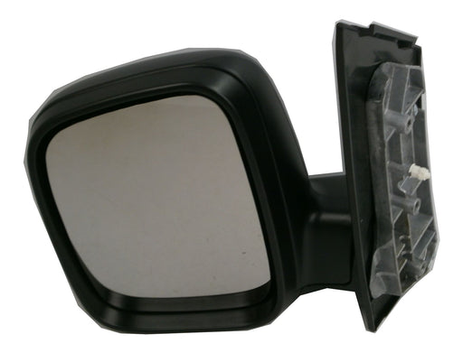 VW Caddy 3/2004-2010 Manual Wing Mirror Black Textured Tall Housing Passengers