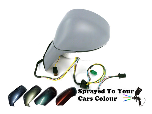 Citroen C4 04-10 Electric Wing Mirror Arm Cover Passenger Side Painted Sprayed