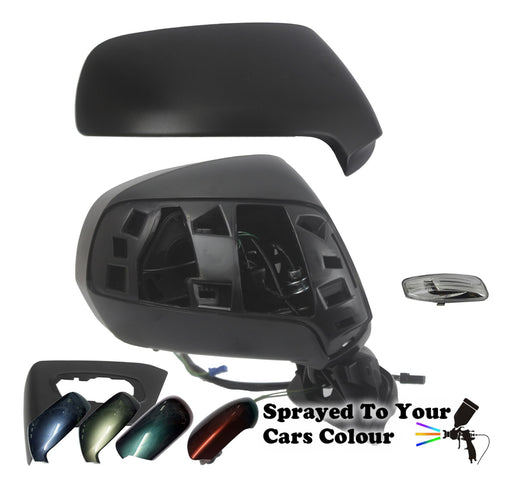 Citroen C4 Picasso Mk1 2006-2013 Wing Mirror Powered Memory Drivers Side Painted Sprayed