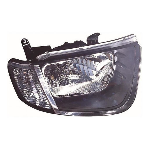Mitsubishi L200 Mk4 Single Cab 3/2006-2010 Headlight Headlamp Drivers Side O/S