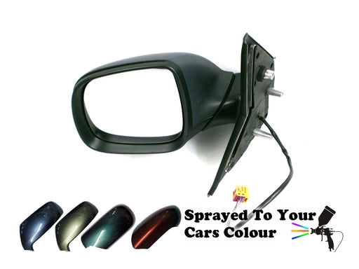 VW Transporter T5 1/2010-2015 Electric Wing Mirror Passenger Side N/S Painted Sprayed