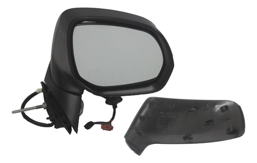 Peugeot 5008 Mk1 2010+ Electric Wing Mirror Heated Indicator Primed Drivers Side