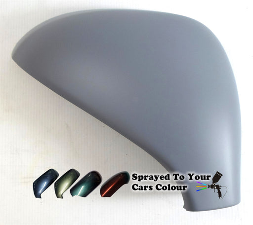 Peugeot 308 Mk.1 (Incl. 308CC) 2007-4/2014 Wing Mirror Cover Drivers Side O/S Painted Sprayed