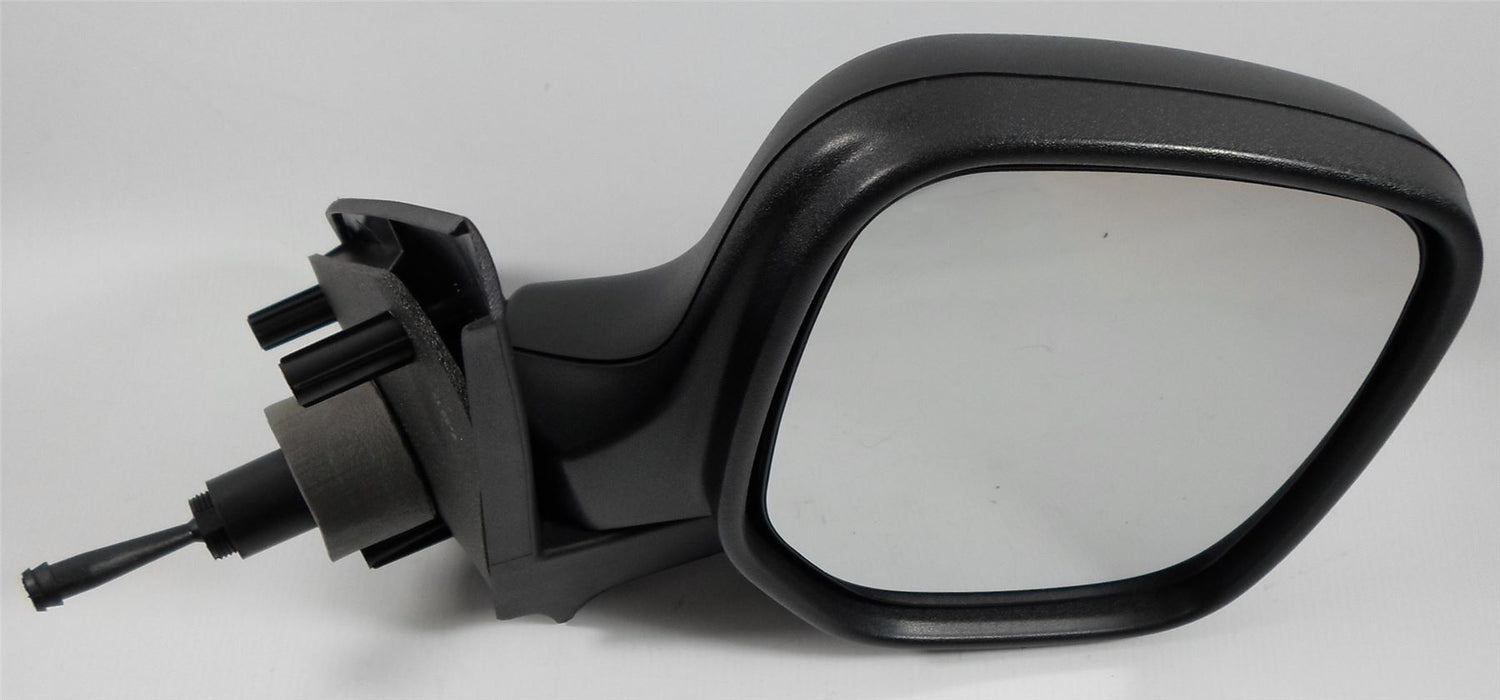 Peugeot Partner Mk.1 2009-2011 Cable Wing Mirror Black Textured Drivers Side O/S