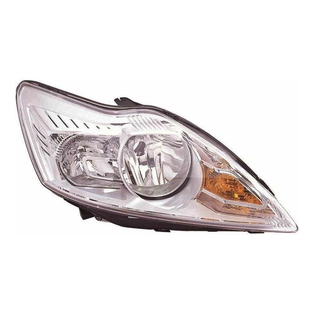 Ford Focus Mk2 Saloon 3/2008-6/2011 Chrome Inner Headlight Lamp Drivers Side O/S