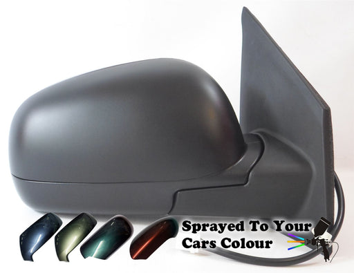 Nissan Note Mk1 2006-6/2010 Electric Wing Mirror Heated Drivers Side O/S Painted Sprayed