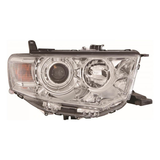 Mitsubishi L200 Mk4 Single Cab 9/2010-2015 Headlight Headlamp Drivers Side O/S