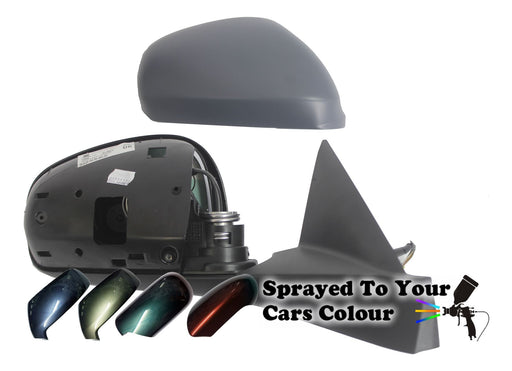 Alfa Romeo Mito 2009+ Electric Wing Mirror Heated Drivers Side O/S Painted Sprayed