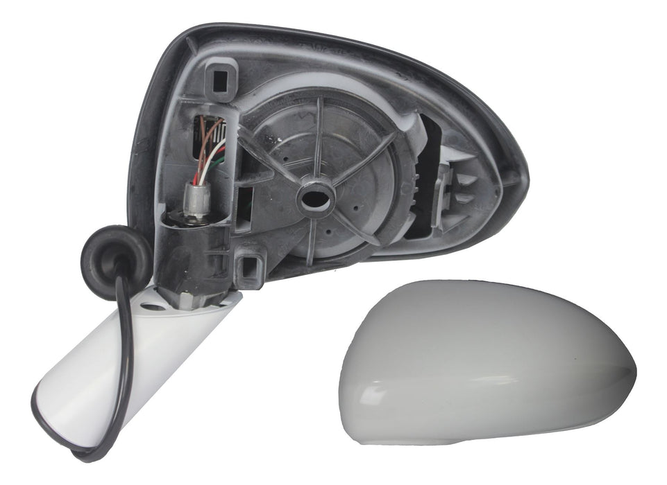 Vauxhall Corsa D 7/06-4/15 Electric Wing Mirror Paintable Cover & Arm Passenger
