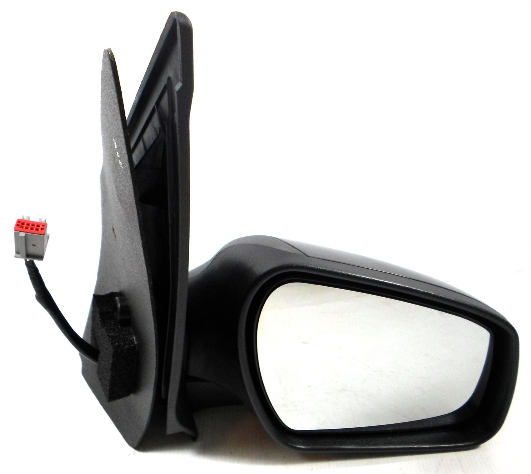 Ford Fiesta Mk6 10/2005-2008 Wing Mirror Power Folding Black Drivers Side O/S