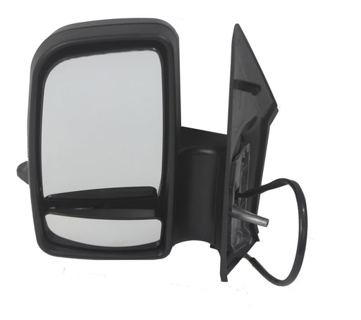 Mercedes Sprinter Mk2 2006+ Short Arm Wing Mirror Electric Passenger Side N/S