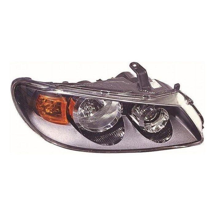 Nissan Almera N16 Saloon 2/2003-2006 Black Inner Headlight Lamp Drivers Side O/S