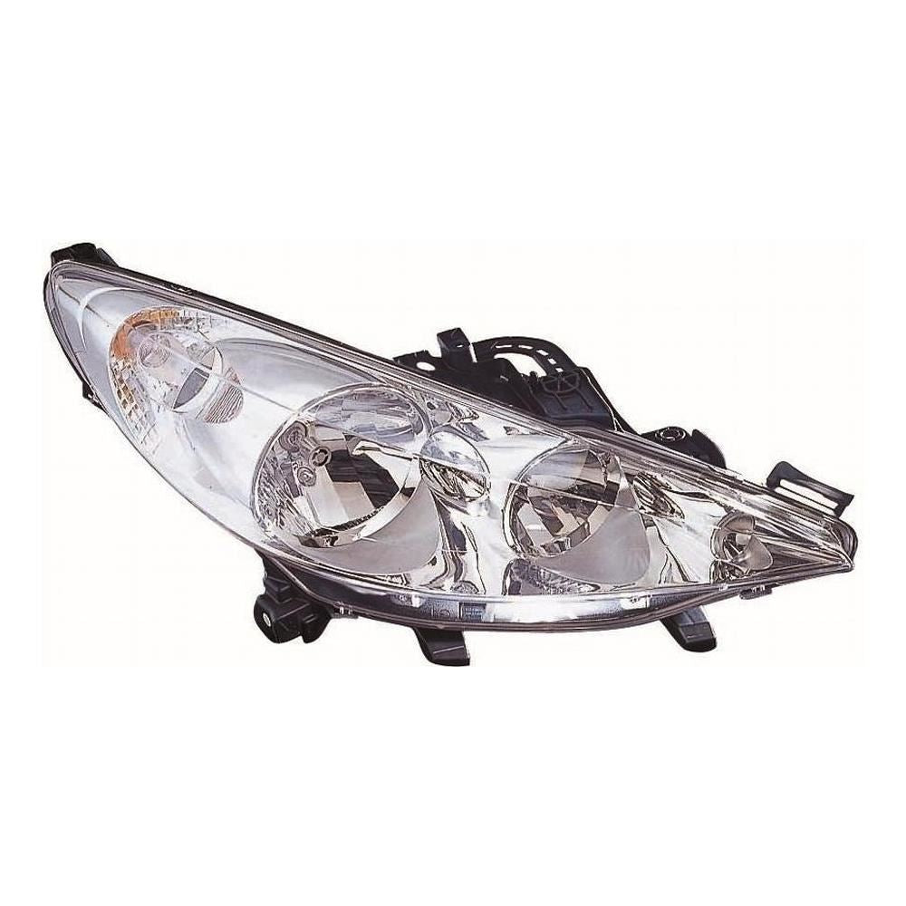 Peugeot 207CC Cabrio 5/2010-2013 Headlight Headlamp Drivers Side O/S