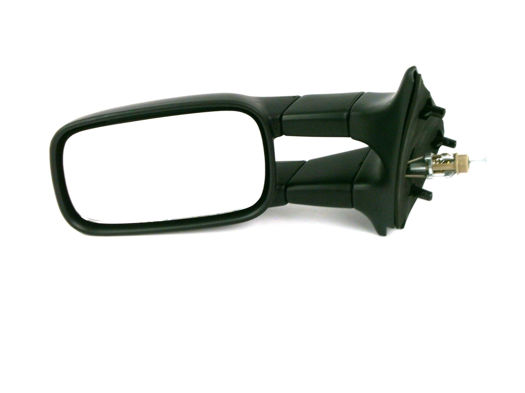 Seat Inca Van 1996-3/2004 Cable Wing Mirror Black Textured Passenger Side N/S