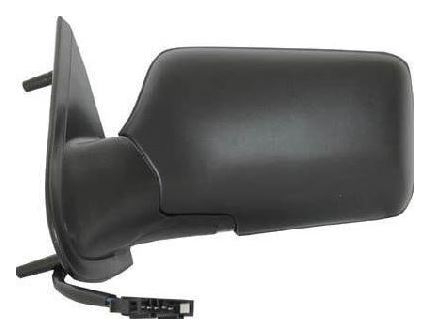 Volkswagen Vento 1992-1998 Electric Wing Mirror Heated Black Passenger Side N/S