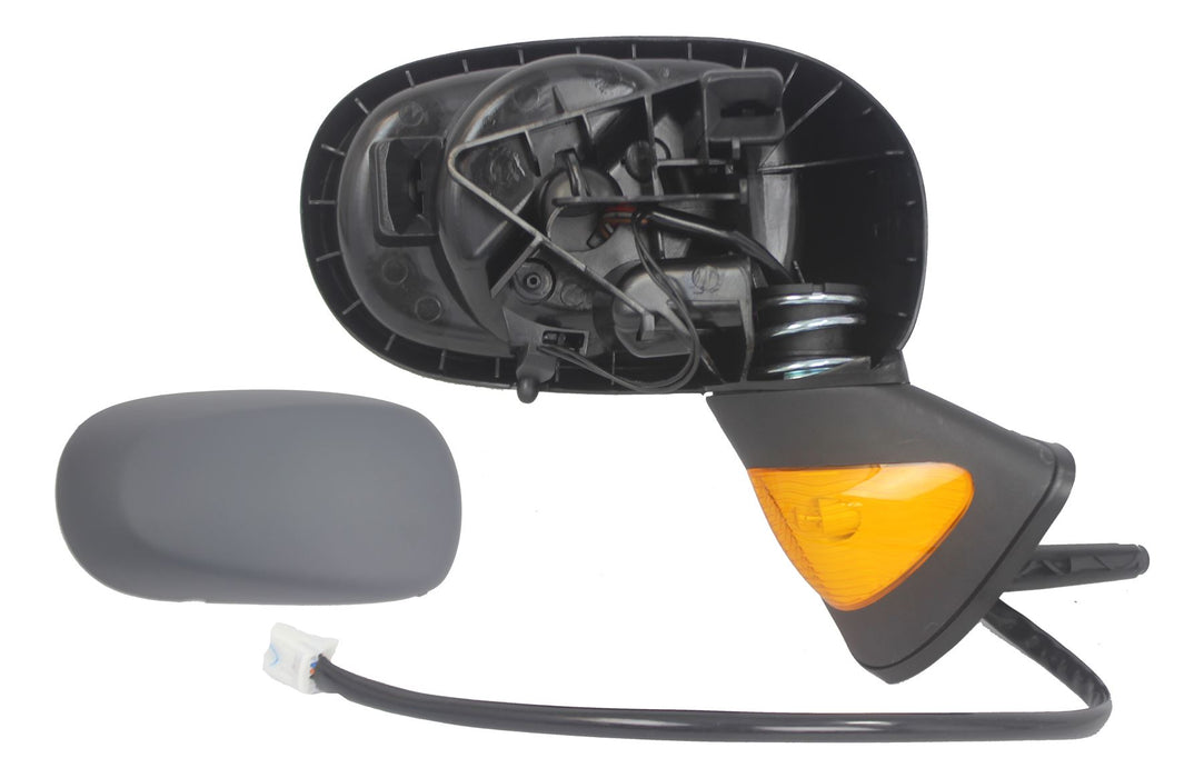 Renault Modus 04-12/06 Electric Wing Mirror Amber Indicator Primed Drivers Side