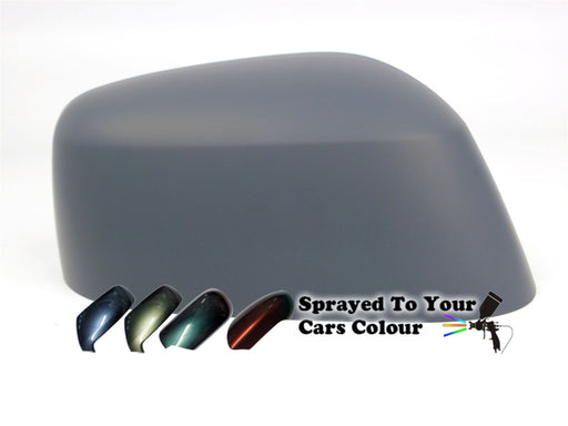 Nissan Navara Mk.1 (D40) 6/2008-4/2016 Wing Mirror Cover Drivers Side O/S Painted Sprayed