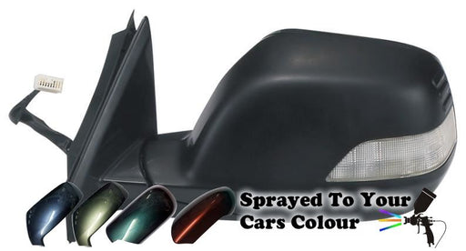 Honda CR-V Mk3 11/2006-3/2013 Wing Mirror Power Folding Drivers Side Painted Sprayed