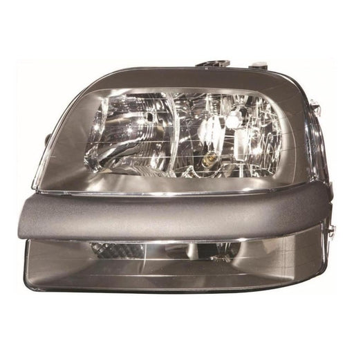 Fiat Doblo Mk1 Van 2001-2005 Headlight Headlamp Inc Fog Passenger Side N/S
