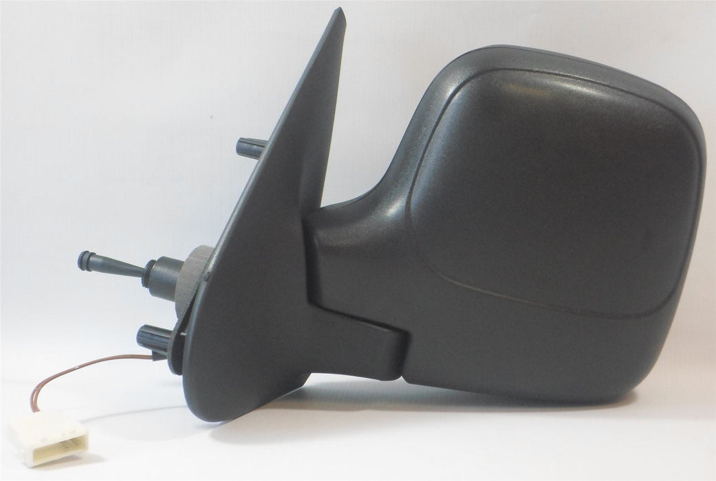 Peugeot Partner Mk.1 1996-2008 Cable Wing Mirror Heated Black Passenger Side N/S
