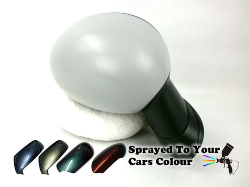 Mini Cabrio R57 Mk2 8/2006-4/2014 Wing Mirror Power Folding Drivers Side Painted Sprayed
