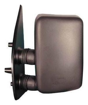 Fiat Ducato Mk2 1994-1998 Short Arm Wing Mirror Electric Black Passenger Side