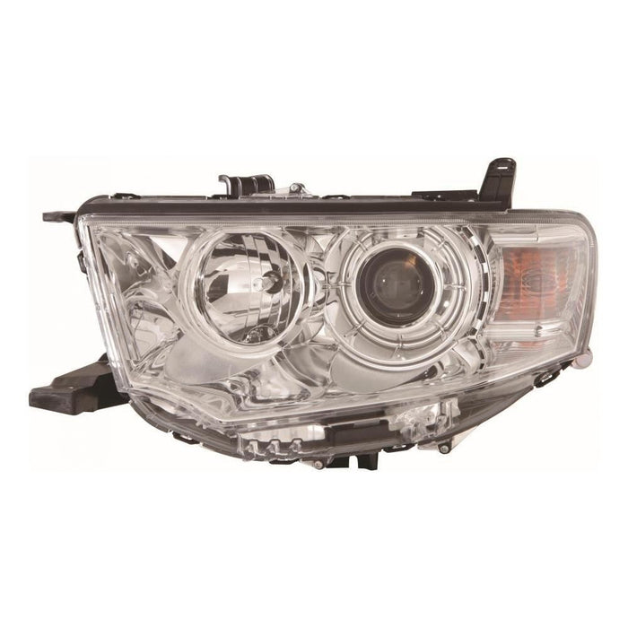 Mitsubishi L200 Mk4 Twin Cab 9/2010-2015 Headlight Headlamp Passenger Side N/S