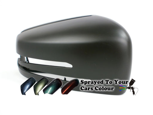 Mercedes Benz S Class (W221) 3/2010-6/2014 Wing Mirror Cover Drivers Side O/S Painted Sprayed