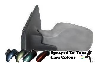 Renault Clio 10/2005-9/2009 Manual Cable Wing Mirror Passenger Side N/S Painted Sprayed